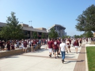 Outside of Kyle Field